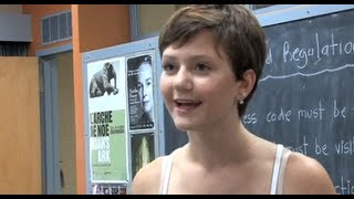Degrassi's first trans character, Adam: Interview with actress Jordan Todosey