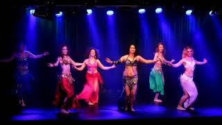 Orientalisk dans Avanceratgruppen WDC h-t 2017 Video