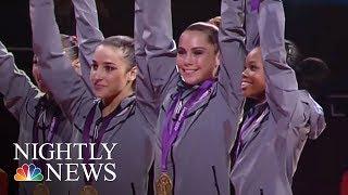 Gymnastics Stars Speak Out Against Larry Nassar | NBC Nightly News