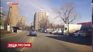 Очевидцы сняли, как актёр Валерий Николаев гоняет по встречке