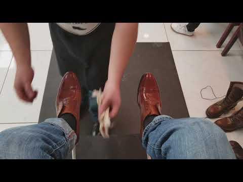 ASMR Shoe Shine Salt Lake