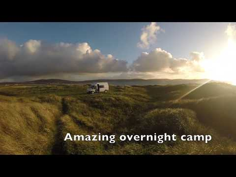 Campervan trip to the Uists