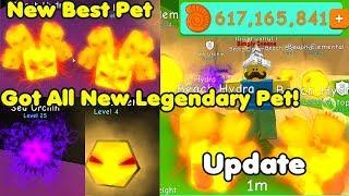 Update! Got All New Legendary Pets! Beach Hydra & Beach Elemental! New Island - Bubble Gum Simulator