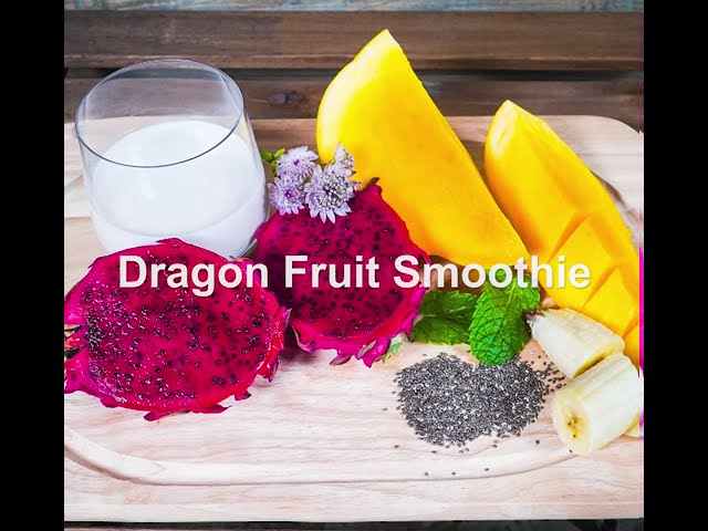 Delicious Dragon Fruit Smoothie Bowl