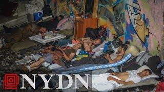 Former drug addict talks about life in Bronx homeless encampment