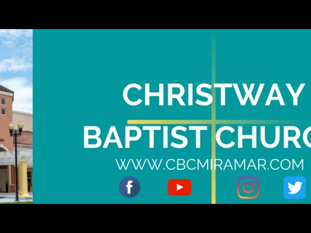 Christway July 26 |God Displays His Mercy in the Midst of His Wrath