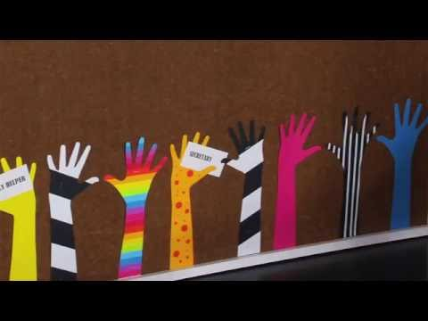 Ellison Education Lesson Plan #12053: Helping Hands Bulletin Board