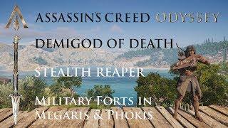 AC Odyssey - Stealth Reaper - Demigod of Death #1 (4k/60fps)