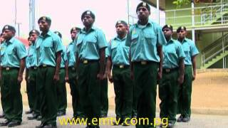 PNG Defence Force Pass Out