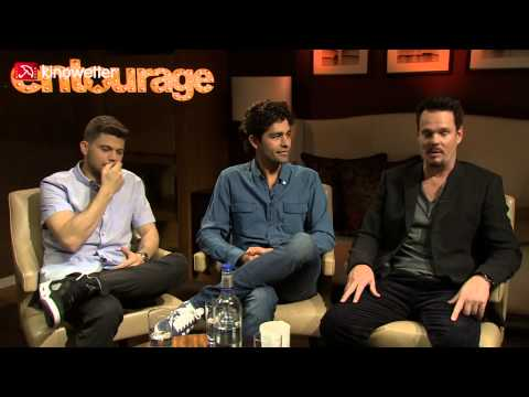 Interview Jerry Ferrara, Adrian Grenier, Kevin Dillon ENTOURAGE