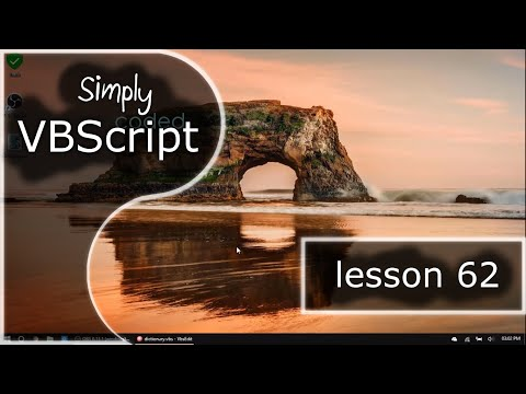 VBScript Basics, Part 62 | Adding and Viewing (Dictionary)