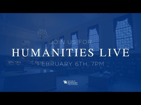 UK Arts & Sciences YouTube Live Q&A: Humanities