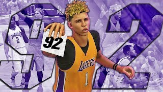NBA 2K17 MyCAREER LaMelo Ball #4 - 92 POINTS!!