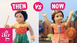 Best Birthday Ever! | Then Vs Now Stop Motion | @American Girl