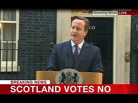 Scottish Independence Referendum, 2014 - Live Coverage - BBC World News - 19/9/14 - Part 4 of 4
