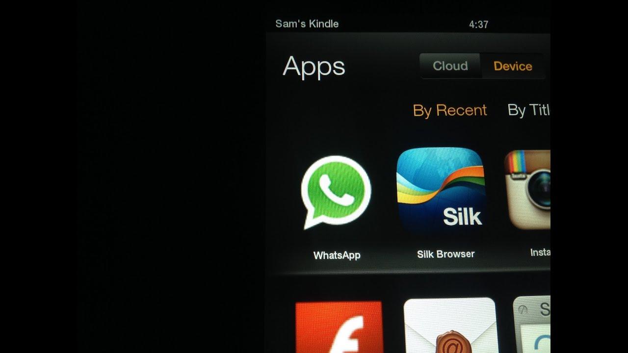 Amazon Fire Tablet Whatsapp