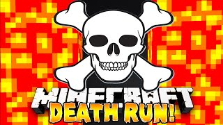 Minecraft - NEW DEATH RUN! (Traps, Lava, & Parkour!) w/Preston, Pete, Nooch & Kenny