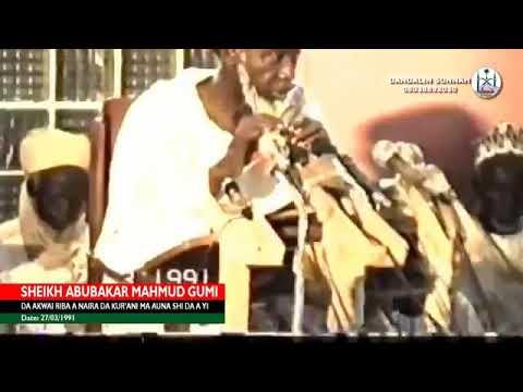 Download Nasihar Juma'a Daga Marigayi Sheikh Abubakar Gumi Allah Ya Kyauta Makonci