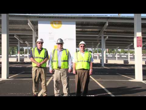 FedExField Solar Panels Installed by IBEW Contractors - ElectricTV