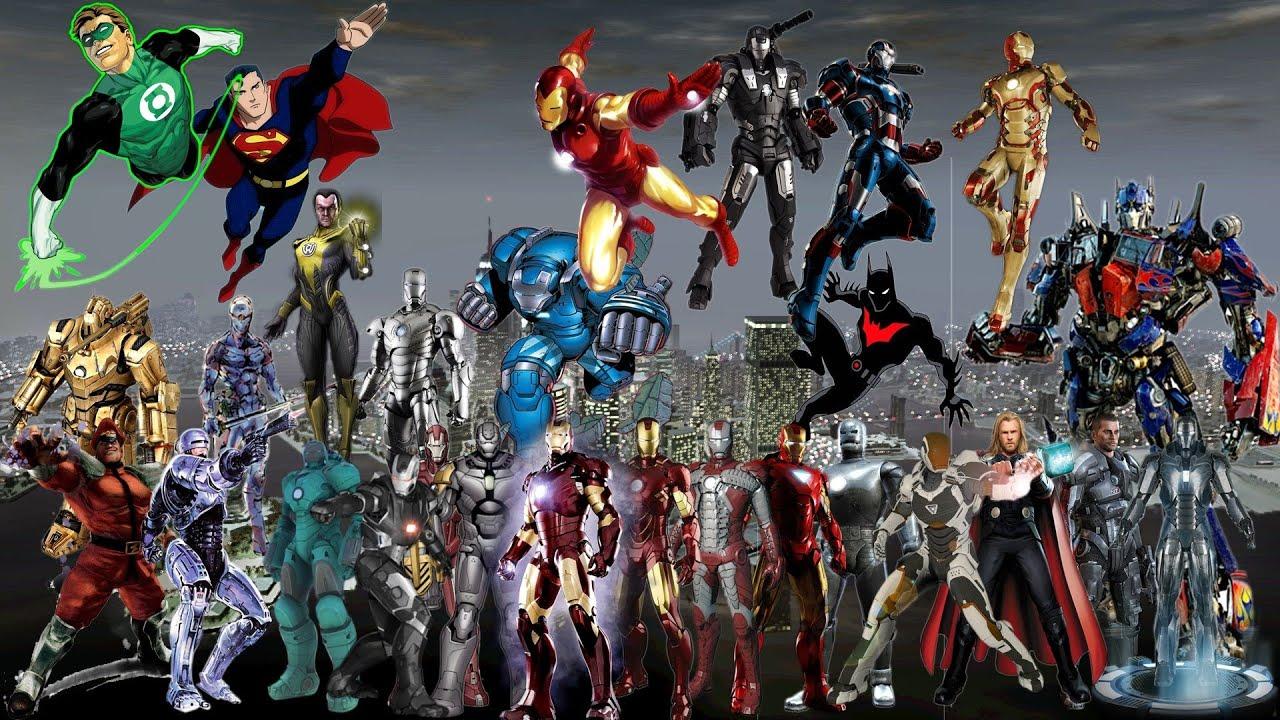 Iron Man 3 3d Live Wallpaper Gta Iv Iron Man Hulk Amp Ghostrider Mod Youtube