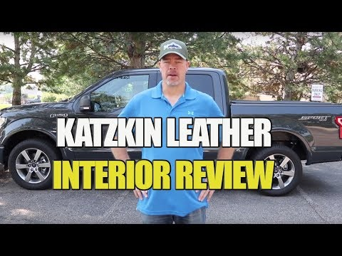 Ford F-150 Gets New Katzkin Leather Interior - Review