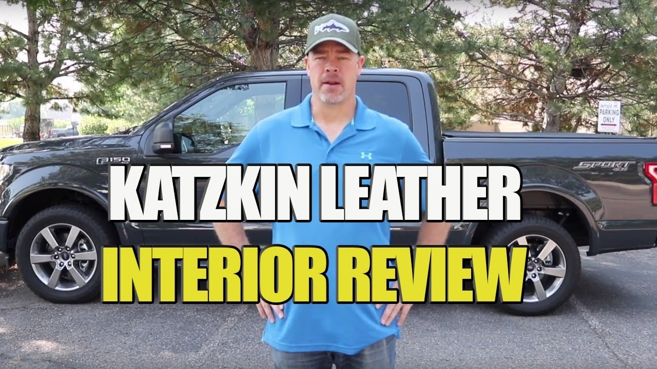 Ford F 150 Gets New Katzkin Leather Interior Review Youtube