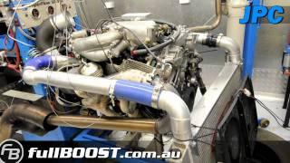 nissan vq35 turbo engine dyno