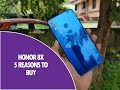 5 Reasons to buy Honor 8X
