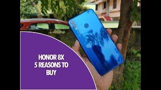 5 Reasons to buy Honor 8X