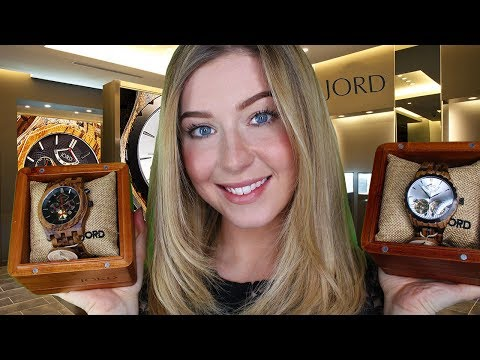[ASMR] Luxury Watch Shop Jord Wooden Watches Roleplay