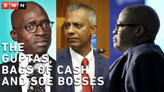 Three anonymous witnesses appeared before the state capture commission of inquiry and provided evidence implicating former Transnet bosses and former Public Enterprises Minister Malusi Gigaba in allegations of state capture. The three witnesses were former bodyguards and drivers of Gigaba, Brian Molefe, Anoj Singh, and Siyabonga Gama and have detailed the visits they made at the Gupta family properties.  #StateCapture #Gupta #Transnet