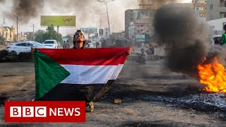 Sudan coup organised to prevent war says top general - BBC News