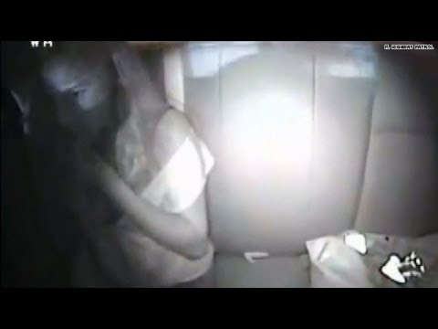 Watch: Woman eats bag of pot to hide evidence?