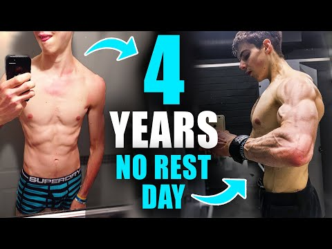 I trained EVERY DAY for 4 YEARS (no rest days).... The truth about OVERTRAINING