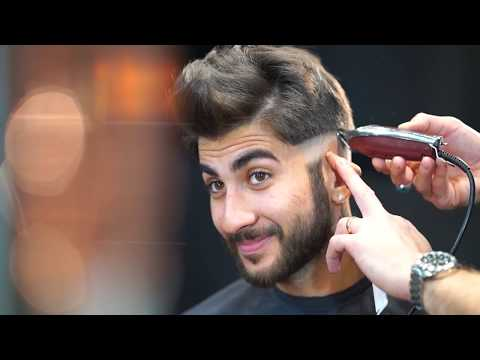 Skin Fade ★ Textured Quiff Haircut #NEW 2018