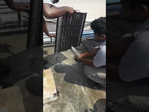CASSETTE AC FILTER CLEANING