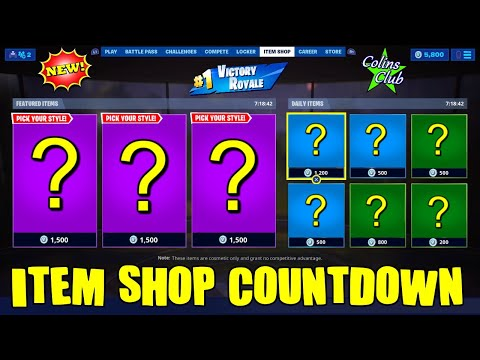Fortnite Item Shop Countdown & Battle Royale LIVE | August 5th, 2019 | Family Friendly | Season 10