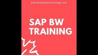 SAP BW التدريب | SAP BW 7.X بالطبع على الإنترنت فيديو