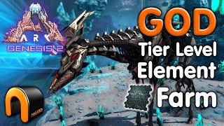 ARK Genesis 2 How To Farm Element GOD TIER LEVEL! #ARK
