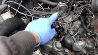 1986 F250 6.9 IDI burning oil fix! RDT and cold start