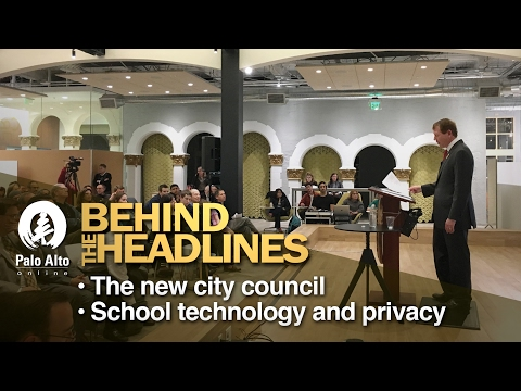 Behind The Headlines - The new city council, School technology and privacy