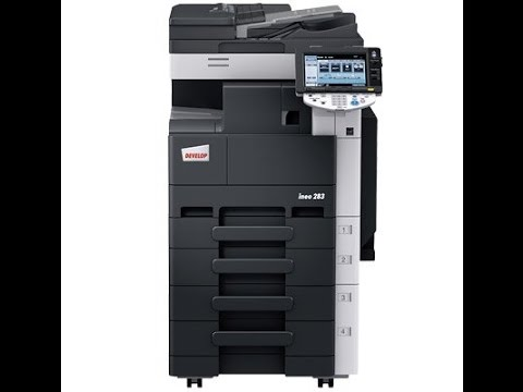 INEO 360 PRINTER DRIVER FOR WINDOWS 7