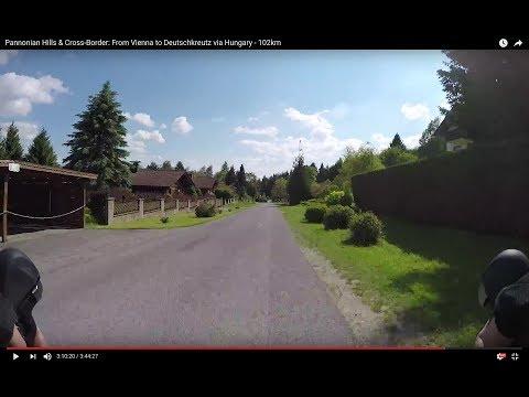 Pannonian Hills & Cross-Border: From Vienna to Deutschkreutz via Hungary - 102km (Short Version)