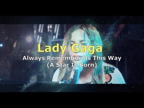 Narodziny Gwiazdy - Lady Gaga - Always Remember Us This Way - Polskie Tłumaczenie