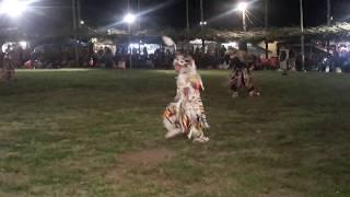 TAOS PUEBLO POW WOW 2019 DAY 2  EVENING-  Chicken Dance
