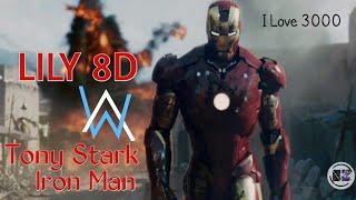 Download Mp3 Iron Man~tony Stark || Lily 8d Sound Alan Walker, K-391, Emelie Hollow Use Earph