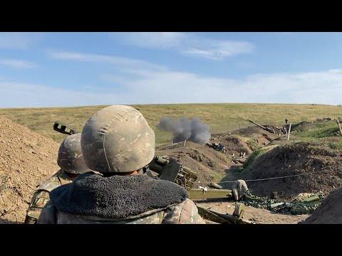 Нагорный Карабах: На линии фронта продолжаются столкновения