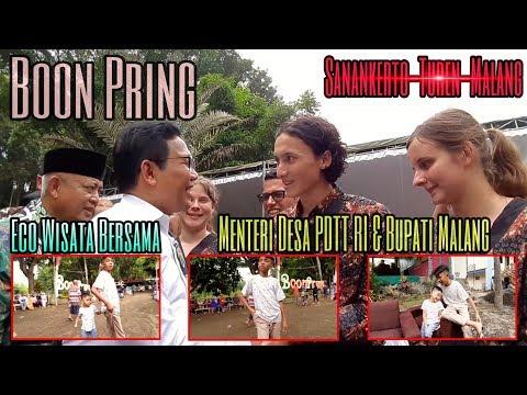 boon-pring-turen-eco-wisata-bersama-menteri-desa-pdtt-ri