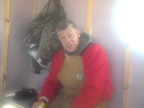 Door County Ice Fishing for Whitefish on Bay of Green Bay on Light Action Tackle