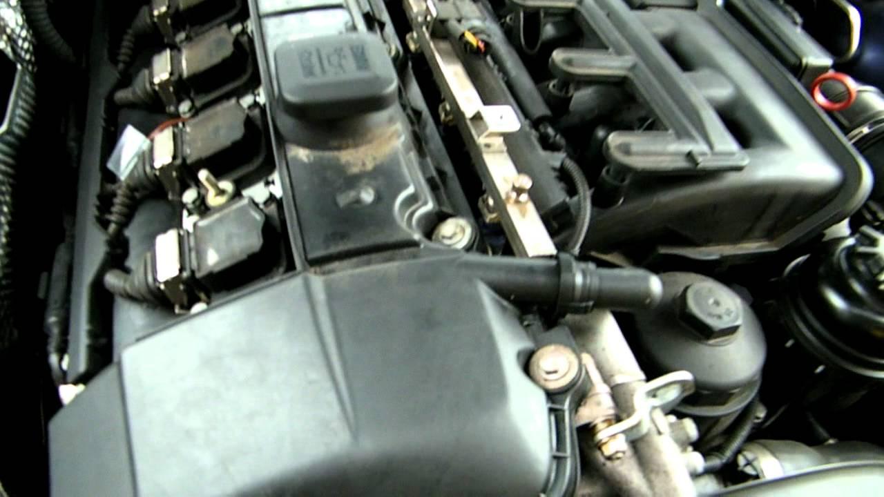 BMW E39 M54 530i engine alternator bearing noise ...